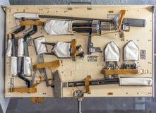Panel z narzędziami pracować w otwartej przestrzeni Obrazy Royalty Free