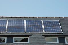 panel zadaszają słonecznego Obrazy Royalty Free