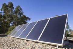 panel zadaszają słonecznego Zdjęcie Stock