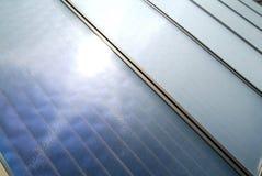 panel zadaszają słonecznego Zdjęcie Royalty Free