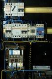 Panelboard électrique Photographie stock libre de droits