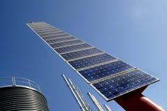 panele słoneczne Zdjęcia Royalty Free
