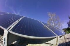 panele słoneczne Zdjęcie Royalty Free