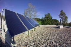 panele słoneczne Fotografia Stock