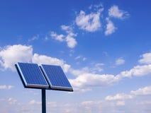 panele słoneczne Fotografia Royalty Free
