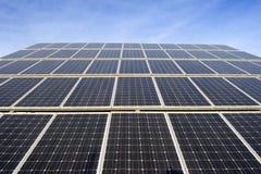 panele słoneczne obraz royalty free
