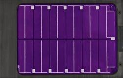 panele słoneczne elektryczne Obraz Royalty Free