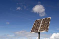 panele słoneczne energii Zdjęcia Stock