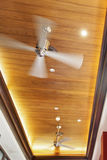 Paneled ceiling fans Stock Photos