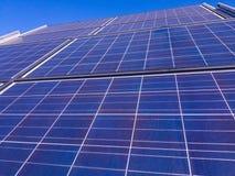 Paneler för sol- cell Royaltyfria Foton
