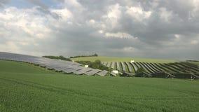 Paneler för sol- energi för silikoner lager videofilmer