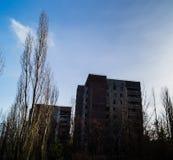Panelhus i pripyati Royaltyfri Fotografi