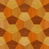 Paneling pattern - seamless background - wooden surface Stock Image