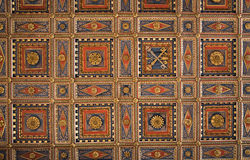 Panelled Ceiling. Royalty Free Stock Image