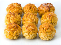Panellets Royalty Free Stock Photo