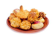 Panellets, typical pastries of Catalonia, Spain, eaten in All Sa Stock Photos