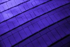 Panelljuset i simbassängen Royaltyfri Fotografi
