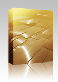 Panels abstract box package Stock Photography