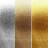 Panels. In different materials with some fine grain in it Royalty Free Stock Images