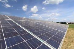 panels photovoltaic Royaltyfria Foton