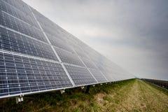 panels sol- Royaltyfri Fotografi