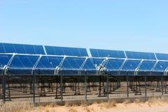 panels sol- royaltyfria foton