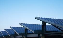 panels sol- Fotografering för Bildbyråer
