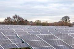 Panels9 solaire Photos libres de droits