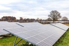 Panels5 solar Foto de Stock