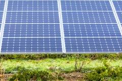 Panels7 solar Foto de Stock Royalty Free