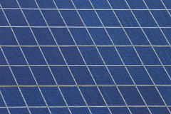 Panels with solar cells Royalty Free Stock Photography