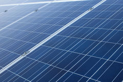 Panels with solar cells Stock Photography