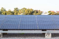 Panels of solar cells Stock Photography