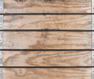 Panels of Wood Stock Image