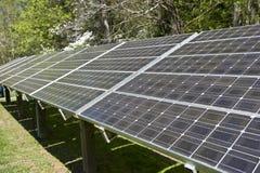 Panelsamling för sol- energi Royaltyfria Foton