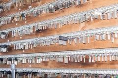 Paneltangenter till låssmeden Royaltyfri Foto