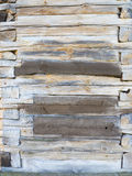Panelu drewniany tło Wyklepanego drewnianego tekstury mieszkania fotografii nieatutowy projekt Obrazy Royalty Free