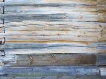 Panelu drewniany tło Wyklepanego drewnianego tekstury mieszkania fotografii nieatutowy projekt Obraz Royalty Free