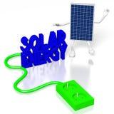 Panelu słonecznego pojęcie Zdjęcie Royalty Free