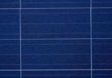 Panelu słonecznego zamknięty up wizerunek Zdjęcia Stock