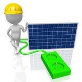 Panelu słonecznego zgromadzenie Fotografia Stock
