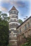 PanemunÄ- slott, Litauen Fotografering för Bildbyråer