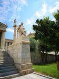 Panepistimio, académie de ressortissant d'Athènes images stock