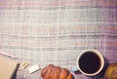 panera kaffe arkivbild