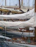 Panerai经典游艇挑战,统治权,意大利 免版税库存照片