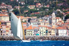 Panerai Classic Yachts Challenge 2008 Royalty Free Stock Photos