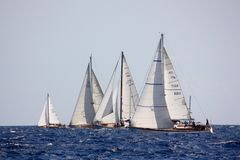 Panerai Classic Yachts Challenge 2008 stock photography