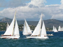 Panerai Classic yachts challenge Royalty Free Stock Images