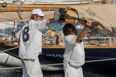 Panerai Classic Yachts Challenge, Imperia, Italy Stock Images