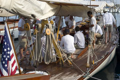 Panerai Classic Yachts Challenge, Imperia, Italy Royalty Free Stock Photography